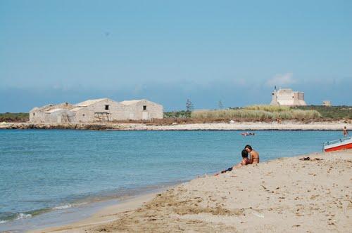 пляж Моргелла, рядом с Марцамеми